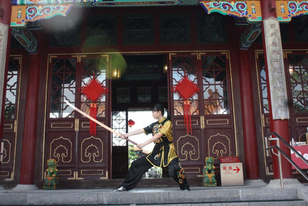 伝統武器 苗刀 中国武術用品 武芸堂 表演服 長拳 カンフー 太極拳 南拳 武器